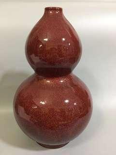 🚚 红釉花瓶 Ox Blood Vase