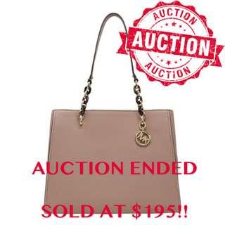 """⏰ENDING SOON!! Auction """"Like"""" & """"Bid"""" Authentic Brand New Michael Kors Sofia Large Tote Fawn From USA Suggested Retail: $798"""