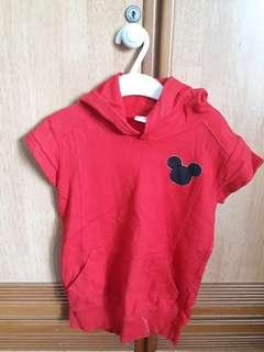 Mickey mouse girl dress
