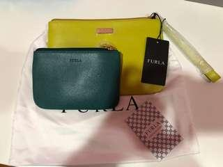 Authentic Furla wristlet