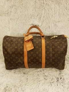 Authentic LV Keepall 50 Bandouliere