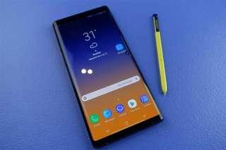 NEW Samsung Note 9 128GB Fullset Original Malaysia Set
