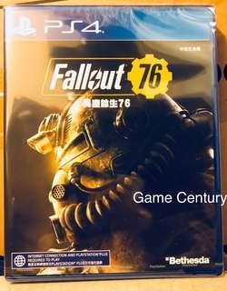 全新 PS4 Fallout 76 港版中英文