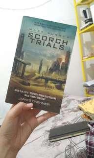 Novel Maze Runner: The Scorch Trial