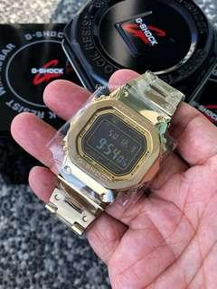 🔥🔥🔥Latest full metal design from Casio , GMW-B5000GD-1 the full Gold meta with negative display G-Shock GMW-B5000GD-9 , gmwb5000 , gmwb5000gd , gmwb5000gd9 , gshock , g-shock , G-SHOCK , Casio , CASIO , Casio , metal gshock