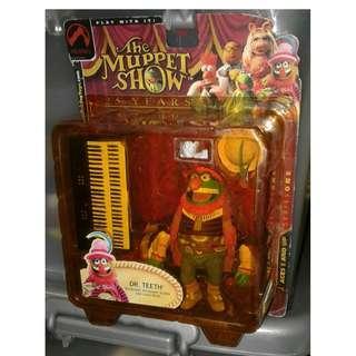 絕版 2004年 Palisades 25th Anniversary The Muppet Dr Teeth Electric Mayhem action figure 1盒