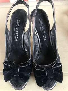 REPRICED: Louis Vuitton Heels (AUTHENTIC-size 5.5)