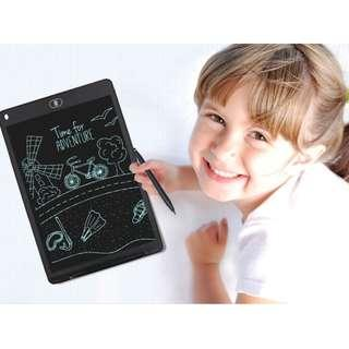 "New 12"" LCD Writing Board Erasable Drawing Tablet Handwriting Pads Thicker Lines With Casing & Magnets"