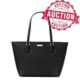 """Auction """"Like"""" & """"Bid"""" Authentic Brand New Kate Spade Laurel Way Small Dally Tote Black From USA Suggested Retail: $385"""