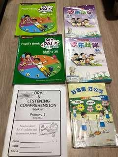 Primary 3 textbooks