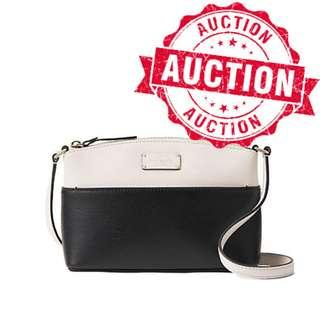 """Auction """"Like"""" & """"Bid"""" Authentic Brand New Kate Spade Grove Street Millie Leather Crossbody Bag From USA Suggested Retail: $385"""