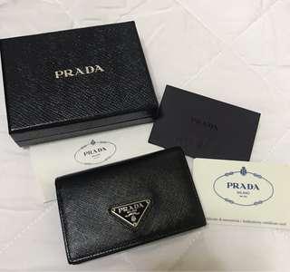 Prada Saffiano Card Holder (Authentic)