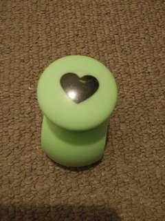 Heart shaped hole punch craft punchie