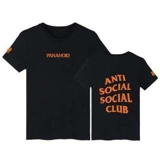 ASSC Paranoid T Shirt
