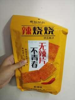 超大包辣燒燒 辣片 辣條