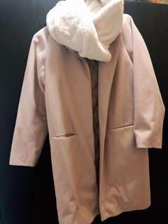 Japanese pink coat