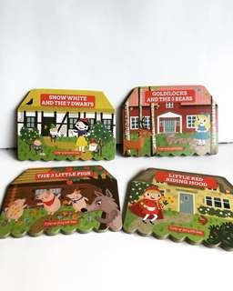 Pop up board books Fairy Tales