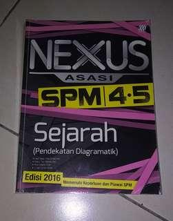 SPM Sejarah Reference Book Revision Workbook  Form 4 Form 5
