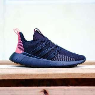 Adidas Original Questar Flow Black Pink #PROMONGKIR #Freeshippingjabodetabek
