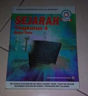 Sejarah Buku Teks Tingkatan 4 SPM Textbook Reference Book Form 4 #MY1212