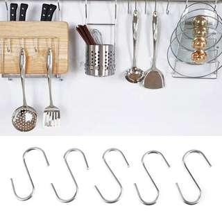 20pcs S-Shaped Hanging Hooks for Multipurpose