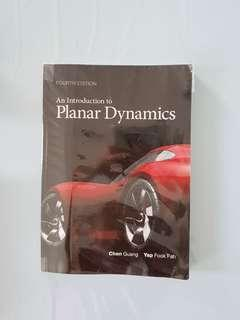 An Introduction To Planar Dynamics 4th Edition