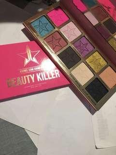 Jeffreestar beauty killer palette