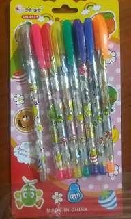 🚚 八色閃光筆