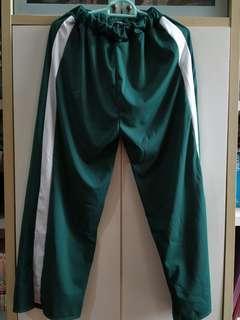 Dark Green Track Pants