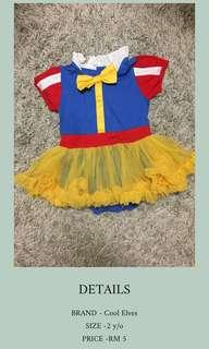 SNOW WHITE ATTIRE