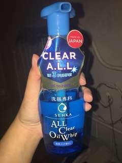 Senka all clear oil whip