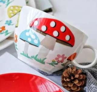 Cath Kidson Mushroom City Cup *Set of 2*