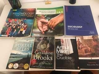 VCE year 12 units 3&4 textbooks