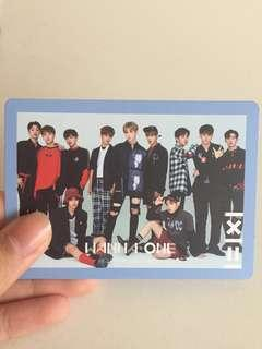 wanna one official group photocard (1=1x1 to be one)