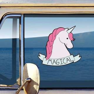 Unicorn Sticker / Car Decal