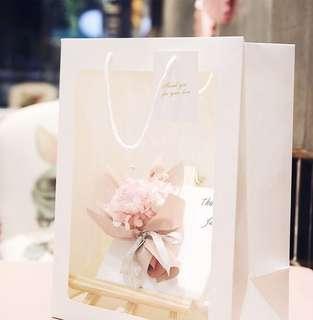 Flower Bouquet Paper Bag