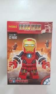 DECOOL IRON MAN MARK 35 RED SNAPPER