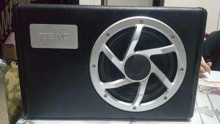Teac 8inch subwoofer w/built in Amp