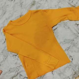 Urban outfitter mustard yellow long sleeve