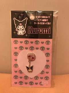 絕版Sanrio Kuromi 貼手機閃石飾物 (2006)