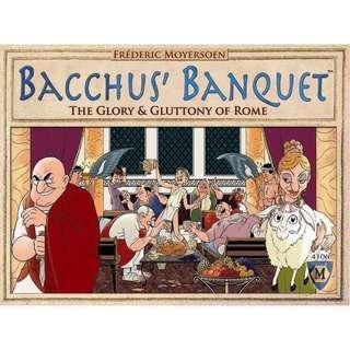 Rare! Bacchus' Banquet Mayfair Games