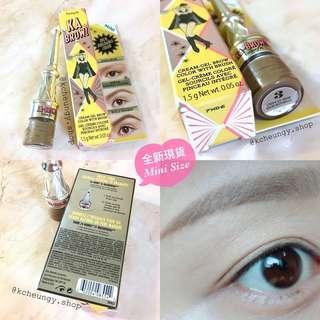 [全新現貨🔅連盒] Benefit KA-Brow! Eyebrow Cream-Gel Colour Mini 1.5g with Brush 霜狀眉膏 連眉掃