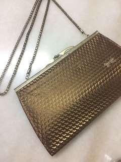 Retro vintage gold Clutch and handbag