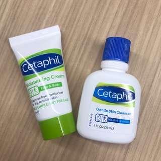 Cetaphil Moisturising Cream and Skin Cleanser Trial Kit
