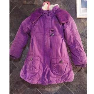 Esprit coat jaket outerwear winter jacket 4-5 tahun