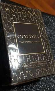 Bnib Bvlgari Goldea the Roman night 30ml great for gift