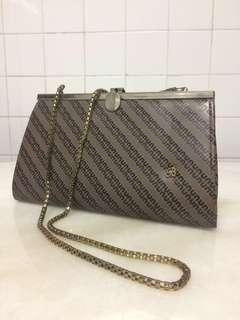 Retro vintage clutch handbag