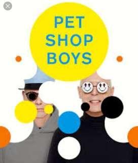 HTB pet shop boys tickets