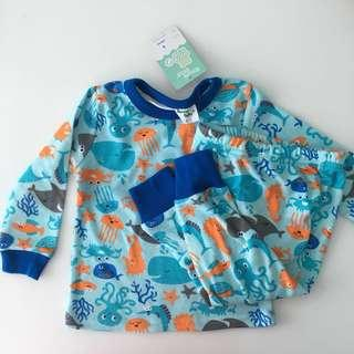 Brand New with Tags 12 months Quality Sleepsuit Pyjamas