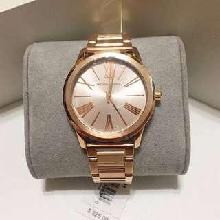 MK Hartman Rosegold Tone Ladies Watch
